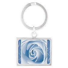 bluelace_Rose_PILLOW Landscape Keychain