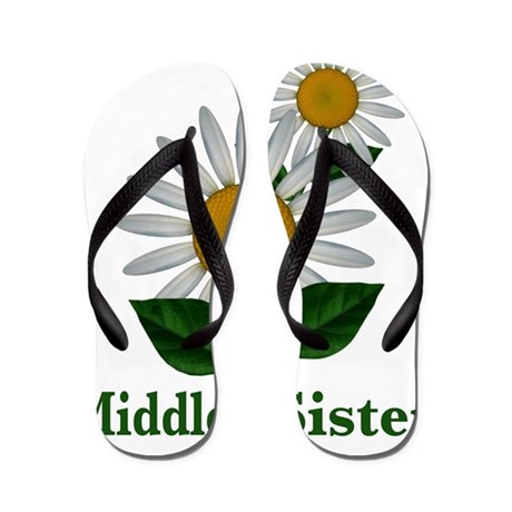 middlesisterflowers Flip Flops