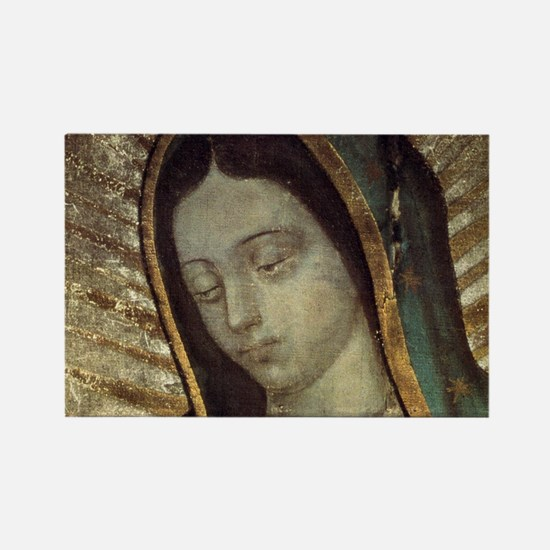 Our Lady of Guadalupe - Mousepad Rectangle Magnet
