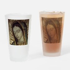 Our Lady of Guadalupe - Mousepad Drinking Glass