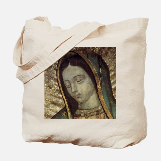 Our Lady of Guadalupe - Mousepad Tote Bag