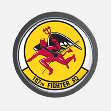 107th_fighter_sq Wall Clock