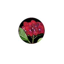 RedHydrangea_Pleats_PILLOW Mini Button