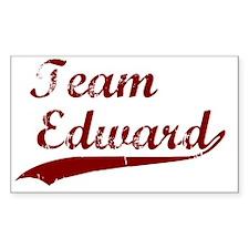 Team Edward bloodred transback Decal
