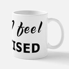 Today I feel chastised Mug