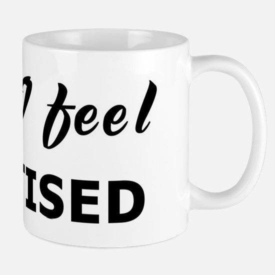 Today I feel chastised Mug