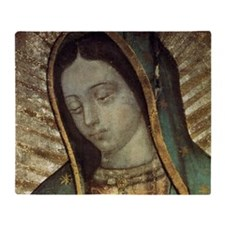 Our Lady of Guadalupe - Pillow Throw Blanket