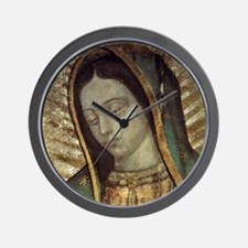 Our Lady of Guadalupe - Pillow Wall Clock