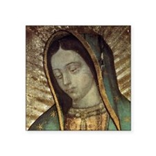 "Our Lady of Guadalupe - Pil Square Sticker 3"" x 3"""