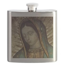 Our Lady of Guadalupe - Pillow Flask