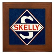 Skelly.gif Framed Tile