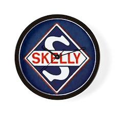 Skelly.gif Wall Clock