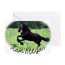 Team Keegan Greeting Card