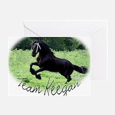 Team Keegan Greeting Card