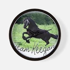 Team Keegan Wall Clock
