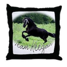 Team Keegan Throw Pillow