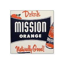 """mission1 Square Sticker 3"""" x 3"""""""