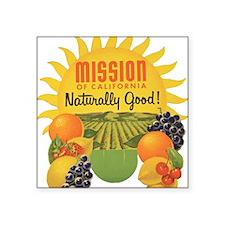 """mission2 Square Sticker 3"""" x 3"""""""