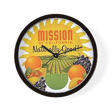 mission2 Wall Clock