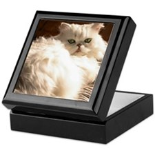 persianwht22 Keepsake Box