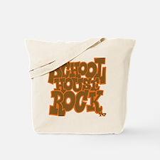 2-schoolhouserock_brown_dark_REVERSE Tote Bag