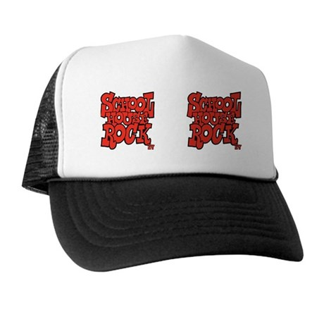 2-school_house_rock_X2_red_coffee_mug Trucker Hat
