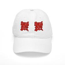 2-school_house_rock_X2_red_coffee_mug Baseball Cap