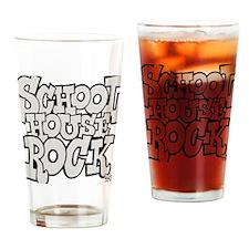 3-schoolhouserock_gray Drinking Glass