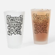 3-schoolhouserock_gray Drinking Glass