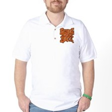3-schoolhouserock_orange Golf Shirt