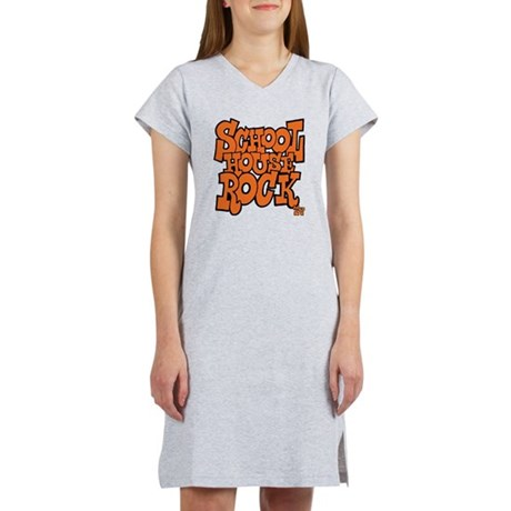 3-schoolhouserock_orange Women's Nightshirt