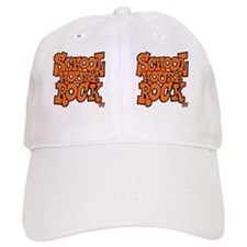 2-school_house_rock_X2_orange_coffee_mug Baseball Cap
