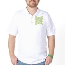 2-schoolhouserock_gray_REVERSE Golf Shirt