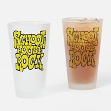 3-schoolhouserock_yellow Drinking Glass