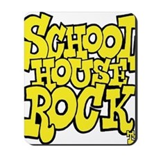 3-schoolhouserock_yellow Mousepad