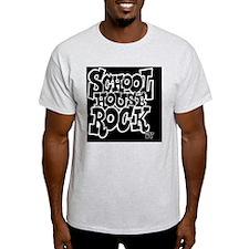 2-SHR_REVERSE_black_button T-Shirt