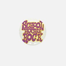 2-schoolhouserock_purple_REVERSE Mini Button