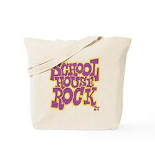 2-schoolhouserock_purple_REVERSE Tote Bag
