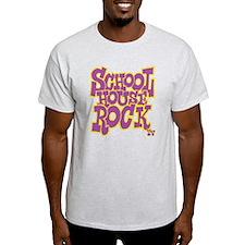 2-schoolhouserock_purple_REVERSE T-Shirt