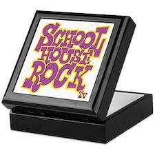2-schoolhouserock_purple_REVERSE Keepsake Box