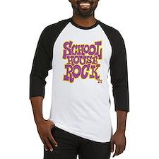 2-schoolhouserock_purple_REVERSE Baseball Jersey