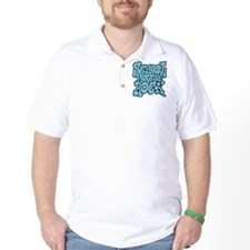 3-schoolhouserock_blue Golf Shirt