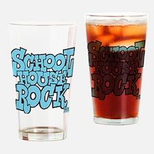 3-schoolhouserock_blue Drinking Glass