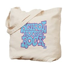 2-schoolhouserock_blue_REVERSE Tote Bag
