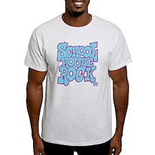 2-schoolhouserock_blue_REVERSE T-Shirt