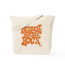 2-schoolhouserock_orange_REVERSE Tote Bag
