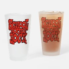 3-schoolhouserock_red Drinking Glass