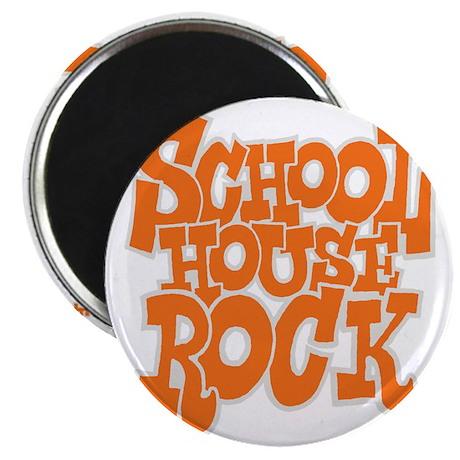 2-schoolhouserock_orange_REVERSE Magnet