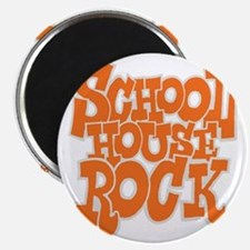 2-schoolhouserock_orange_REVERSE Magnet