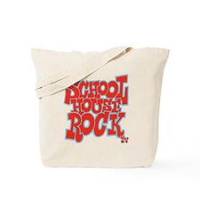 2-schoolhouserock_red_REVERSE Tote Bag